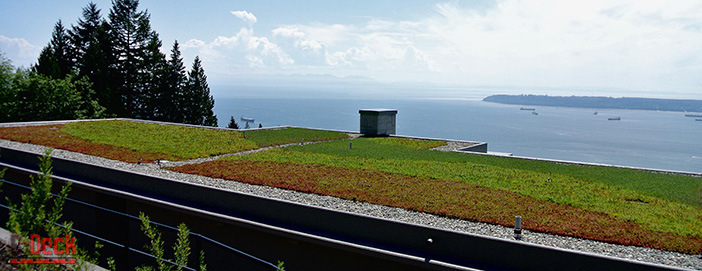 EPS-Deck Concrete Forms for Green Roof Construction & Living Green Systems ON Canada