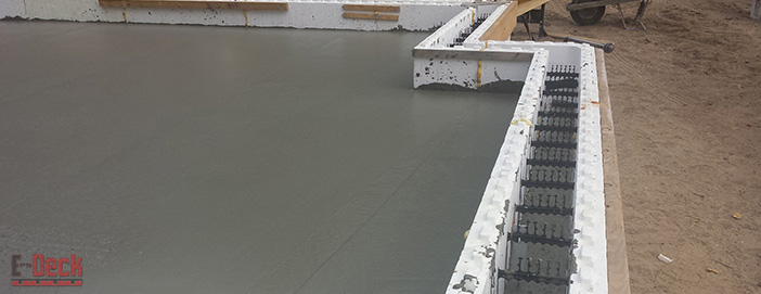 Concrete deck forming by eps deck latest news about deck for Icf concrete roof