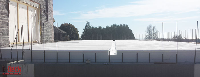 Exceptional ICF Floor U0026 Roof Systems U2013 Insulated Concrete Deck And Foundation Systems  To Meet U0026 Exceed