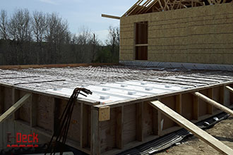 Icf Floor Roof System For Insulated Concrete