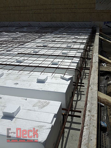 Insulated Concrete Deck Forms By Eps Deck Image Gallery